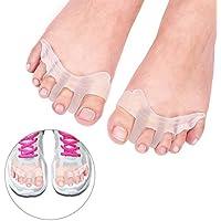 Doact Gel-Zehen-Separator-Zehenspacer Zehe-Stretcher für Männer und Frauen tragen in den Schuhen, Bunion Relief... preisvergleich bei billige-tabletten.eu
