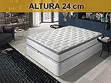 Relaxing-Confort Colchon viscoelastico, Espuma, 90x190