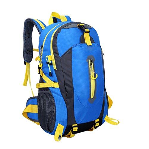 L'alpinismo Esterno Insacca Sacchetti Di Nylon Impermeabile Paio Borsa Sportiva Per Il Tempo Libero,Black blue