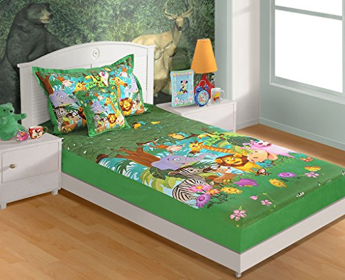 Yuga 100% cotone stampate digitalmente Jungle singolo Lama da letto con cuscino copertura 350TC 60x 90pollici 1 Cojín