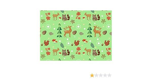 Susy Card 11103728 Weihnachts-Geschenkpapier 10 Motive sortiert 2 m Sortiment mit 60 Rollen
