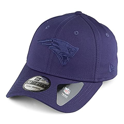 New Era Tonal League Essential 39Thirty Curve Cap ~ New England Patriots