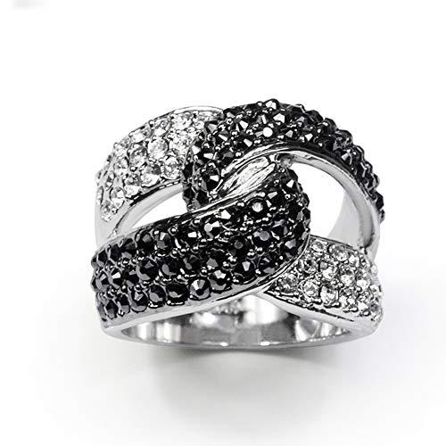 TIZIKJ Hot Hip Hop Gothic Ringe 18 Karat Vergoldet CZ Kristall Voll Vereist Bling Bling Ring für Männer Größe 13 (HK)
