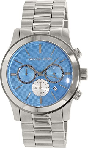 Michael Kors Men's Runway MK5953 Black Stainless-Steel Quartz Watch