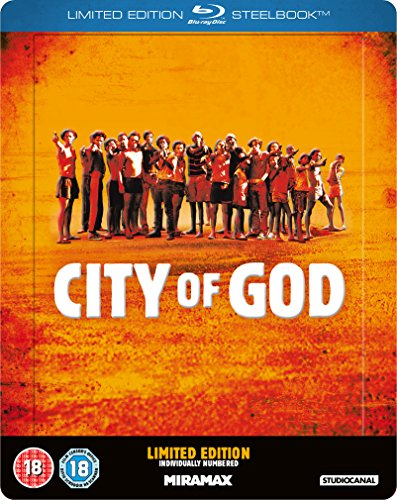 Bild von City of God (Zavvi Exclusive Limited Edition)(Steelbook) [Blu-ray] [UK Import]