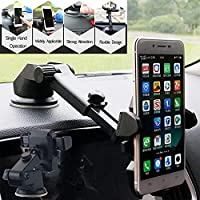 GROX® Neckline Premium Car Mobile Phone Holder - Telescopic One Touch Long Neck Arm 360 Degree Rotation   Ultimate…