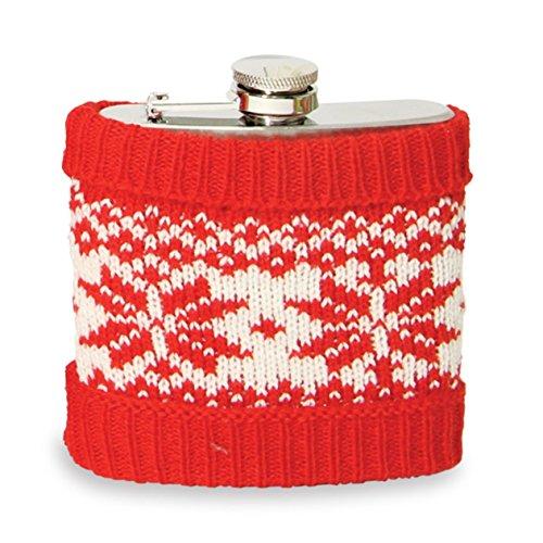 Flashpoint 556128 Flachmann mit Weihnachts Pullover