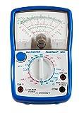 PeakTech Analog Multímetro; CAT III 600V; amperímetro 10A DC; Voltímetro 500V AC/DC; Ω de metros; continuidad, 1pieza, P 3201
