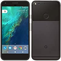 "PIXEL Phone by Google - 128GB - 5"" inch - Android Nougat - Factory Unlocked 4G/LTE Smartphone (Black)"