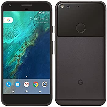"""PIXEL Phone by Google - 128GB - 5"""" inch - Android Nougat - Factory Unlocked 4G/LTE Smartphone (Black)"""