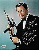 Der Mann aus U.N.C.L.E.–Robert Vaughn Genuine Authentic Hand Autogramm AFTAL COA