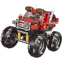 WOYQS Kits De Modelos De Autos For Construir For Niños Serie De Autos De Juguete Modelos De Autos For Construir Bloques De Construcción De Vehículos Todo Terreno Modelo Ladrillos Juguetes For Niños Ed