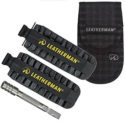 Leatherman Accessoire ultime Kit–42Bit Kit rallonge avec embout et étui de ceinture