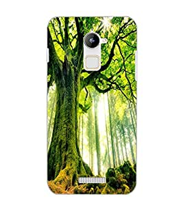 COOLPAD NOTE 3 LITE GREEN TREE Back Cover by PRINTSWAG