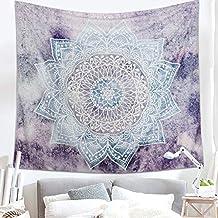 Lomohoo Mandala Tapiz de Pared Ombre Indio tapices de Pared Decoraciones para Sala de Estar Dormitorio
