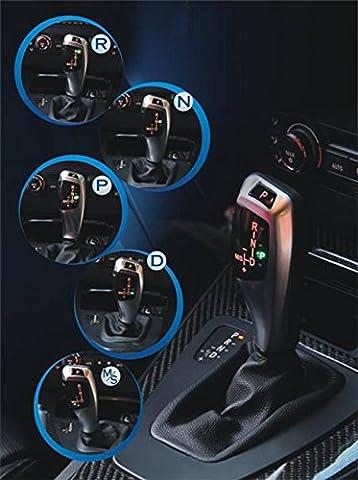 GB-Tuning - LED Automatik Schaltknauf mit Beleuchtung für BMW 3 E46 Coupé 1999 - 2006 - Edles Tuning Zubehör mit Nappaleder - Passgenau zum Original - Schnelle und einfache