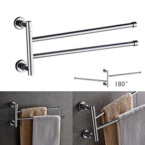 Mobili per asciugamani latest cristallo di lusso in - Porta asciugamani bagno senza forare muro ...