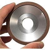 wishfive 75mm muela de rectificar tipo diamante grano 180Taza corte amoladora para metal