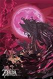 The Legend of Zelda Breath of The Wild - Verheerung Ganon Poster Mehrfarbig