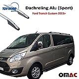 Dachreling Alu (SPORT) für Ford Transit Custom Tourneo F.7 2013> Langer mit TUV ABE