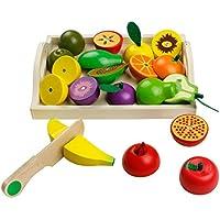 Cortar Frutas Verduras Juguetes Frutas y Verduras Juguete para Cortarcocinas de Juguete Para Niños Juguete de Cocina El Mejor Regalo de Niña