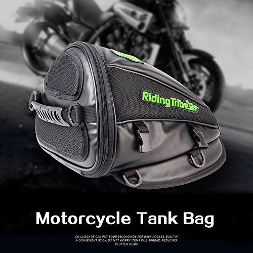 Sedeta Motorrad-Behälter Tasche Wasserdichte Motobike Backseat-hintere Endstück-PU-Leder-Gepäcktasche
