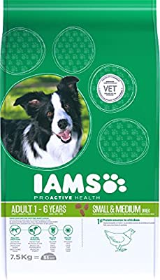 Iams Dog Food ProActive Health Adult Small and Medium, 7.5 kg