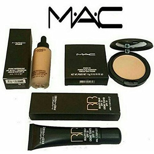 Girraj Store Mac Combo Of Bb Cream Compact And Foundation