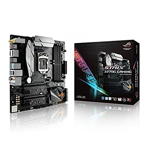 Asus ROG Strix Z270G Gaming Mainboard Sockel 1151 (mATX, Intel