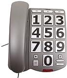 Eurosell Großtasten Telefon Festnetz DECT für Senioren Unitymedia Fritzbox TP-Link Router große Tasten
