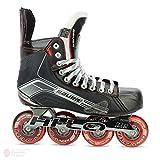 Bauer X500R Inline Roller Eishockey Schlittschuhe UK 9.5D