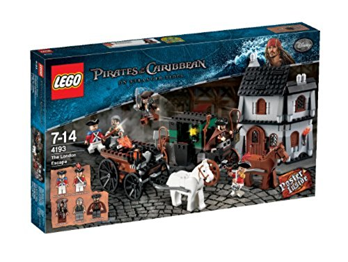 flying dutchman lego LEGO Pirates of the Caribbean 4193 - Flucht aus London