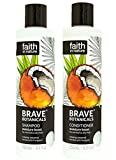 Faith In Nature Brave Botanicals Coconut & Frangipani Shampoo & Conditioner Duo 250ml