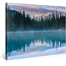 Foto en lienzo WILD LIFE Impresión artística en lienzo, creado por Tom Harris, Cuadros en lienzo previamente fijados, listos para ser colgados. AmazonES - Comparable con un cuadro al óleo - y no a un póster o cartel 100x75cm #e3456