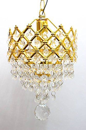 ArihantSuperStore Beautifu Imported Crystal Chandelier Jhoomer Ceiling Hanging Lamp for Beautiful Home & Office