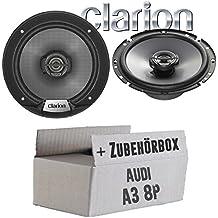 Ground Zero Lautsprecher Boxen 165mm Koax Hintere T/üren oder Seiten Heckbereich 96-03 8L Audi A3