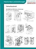 Verkaufsautomat, über 6900 Seiten (DIN A4) patente Ideen und Zeichnungen