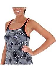 Lotto Camiseta Tirantes pádel Tennis Tech Tank Print. 210384 Brilliant White.