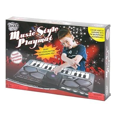 DJ Music Style Play Mat