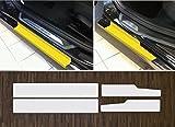 passgenau für BMW 3er F30 F31 Limousine und Touring ab 2012 Lackschutzfolie transparent Einstiegsleisten Einstiege Türen