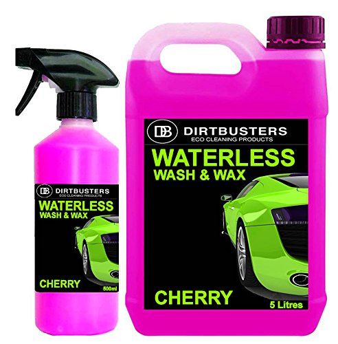 dirtbusters-waterless-car-wash-and-wax-cherry-fragrance-5-litres-500ml-spray-car-cleaner-easy-spray-