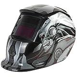 AUDEW Automatik Schweißmaske Solar Schweißhelm Automatisch Schweißschild TIG MIG Schweißschirm (Transformers)