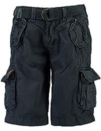 Geographical Norway Pantalones cortos de Carga geográficas hombres Noruega corto Bermuda polaco Hombres Blue Azul