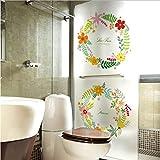 libby-nice Größe 45 * 200Cmwindow Film Kranz Logo Design Dekorative Glasaufkleber Wohnzimmer Küche Zubehör PVC Undurchsichtig Abziehbilder