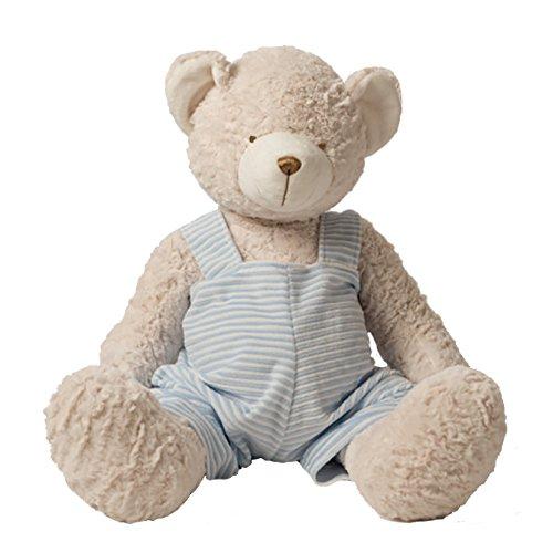 Apfelmus Monogramm Animal Blanky Blauer Teddy