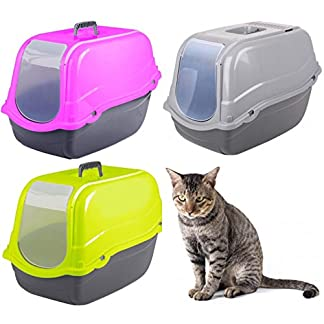 dogi for cavendish trading click & secure pet cat litter tray toilet box Dogi for Cavendish Trading Click & Secure Pet Cat Litter Tray Toilet Box 517xzbXSE7L