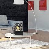 PURLINE AMALTEA Biochimie de table pour l'intérieur ou l'extérieur avec design moderne noir