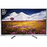 Panasonic 80 cm (32 inches) Viera Shinobi , super bright TH-32E460D HD ready LED TV (Silver)