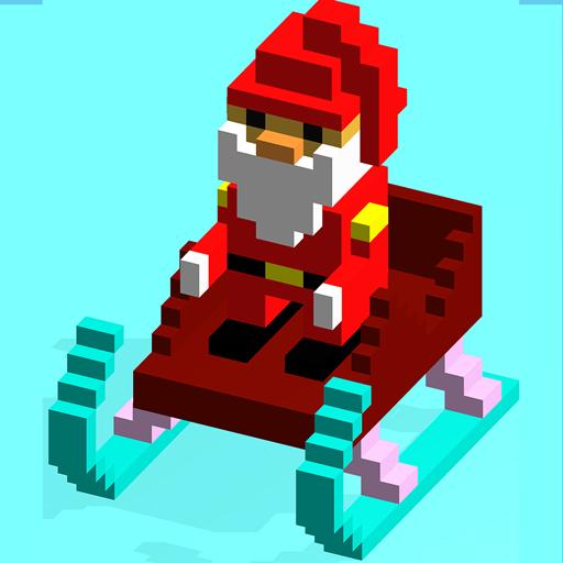 blocky-santa-endless-runner