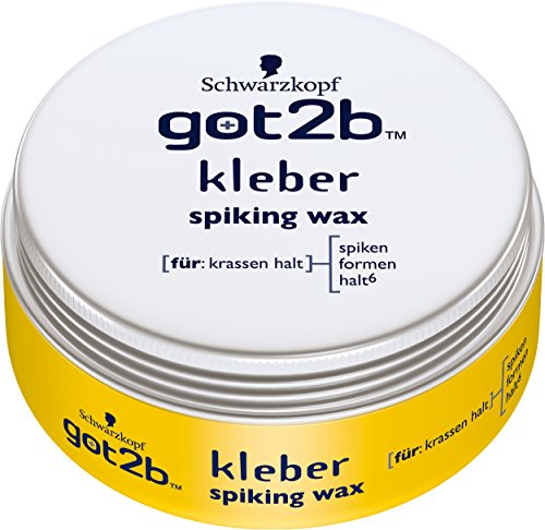 Schwarzkopf Got2b Kleber Spiking Wax, 3er Pack (3 x 75 ml)